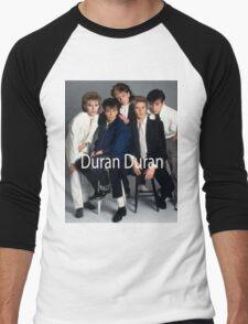 Vintage Duran Duran Poster Men's Baseball ¾ T-Shirt