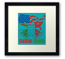Italian Roots Framed Print