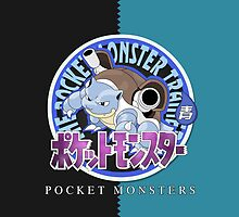 Pocket Monsters Blue by SnapFlash