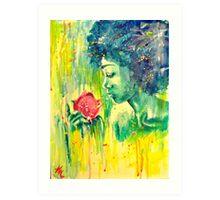 Watercolor Flower Art Print