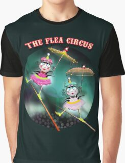 The Fleas Circus - The Tightrope Walker Fleas Sisters Graphic T-Shirt