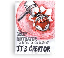 The Great Betrayer II Canvas Print