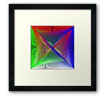 Matrix Geom 1 Framed Print