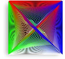 Matrix Geom 1 Canvas Print