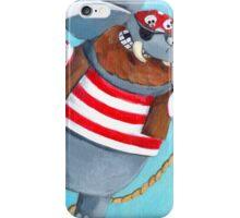 Pirate Elephant iPhone Case/Skin