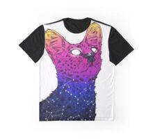 Galaxy Serval Graphic T-Shirt