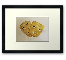 Theatre Masks Framed Print