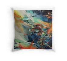 Deroute, featured in Abstract/Surreal Throw Pillow