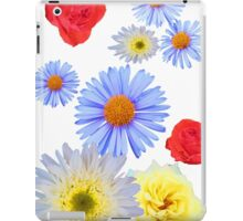 Colorful flowers like living iPad Case/Skin