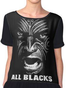 ALL BLACKS RUGBY Chiffon Top