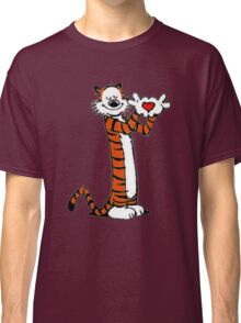 Calvin and Hobbes Love Classic T-Shirt