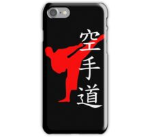 Karate Do Kanji (Red)  iPhone Case/Skin