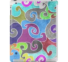 Colorful swirls iPad Case/Skin