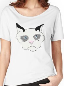 Cranky Cat Women's Relaxed Fit T-Shirt