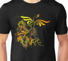 Flaming Phoenix Rising Unisex T-Shirt