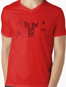 boy, bye Mens V-Neck T-Shirt