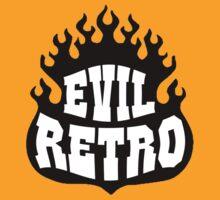 evil retro sheild  by lowgrader