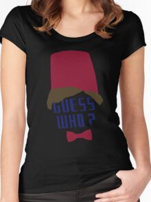 Guess who ? Women's Fitted Scoop T-Shirt
