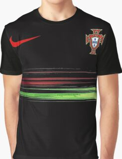 Euro 2016 Football - Portugal Graphic T-Shirt