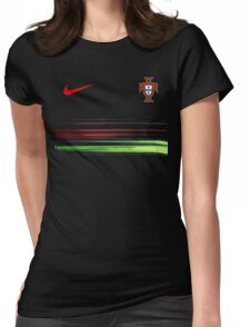 Euro 2016 Football - Portugal Womens Fitted T-Shirt