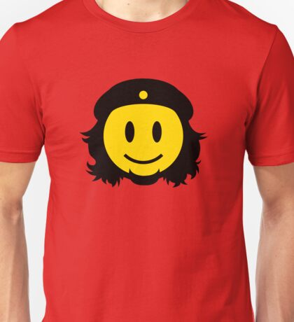 Che Guevara Smiley No.2 Unisex T-Shirt