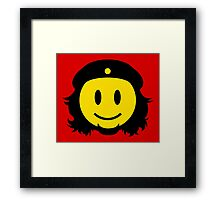 Che Guevara Smiley No.2 Framed Print