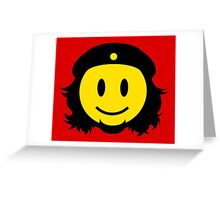 Che Guevara Smiley No.2 Greeting Card