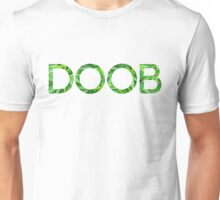 Doob Marijuana Background Unisex T-Shirt