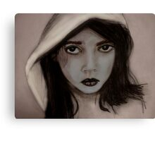 """Hey there little red riding hood"" Canvas Print"