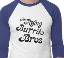 TFBB black (distressed) Men's Baseball ¾ T-Shirt