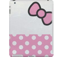 Bow and Dots!  iPad Case/Skin