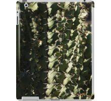 Sharp Shapes and Shadows - Cactus Garden iPad Case/Skin