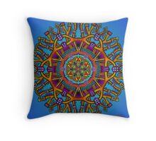 Mandala Throw Pillow by Mandala Jim Throw Pillow