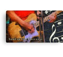 Soul of the universe Canvas Print