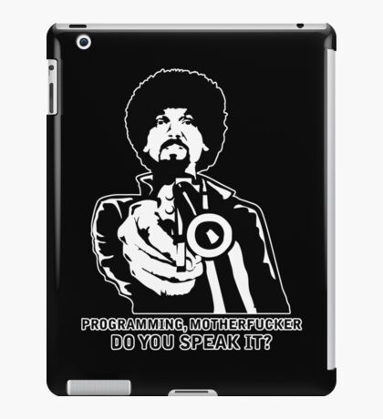 Programming, Motherfucker - Based of Pulp Fiction iPad Case/Skin