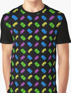 Gaming & Snacking Graphic T-Shirt