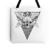 Ajna awakening - lines Tote Bag
