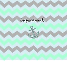 I Refuse to sink Photographic Print