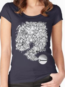 Doodlemon Women's Fitted Scoop T-Shirt