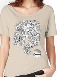 Doodlemon Women's Relaxed Fit T-Shirt