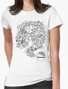 Doodlemon Womens Fitted T-Shirt