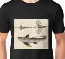 Naturgeschichte in Bildern mit erläuterndem Text E Strack 1820 Lief 4 Fish 012 Unisex T-Shirt