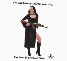 Sexy Nun with Gun - 1 by docdoran