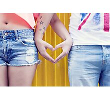 love forever Photographic Print