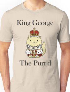 King George the Purr'd Unisex T-Shirt