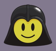 Darth Smiley (only) Kids Tee