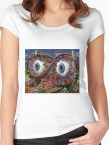 Sea sculpture Women's Fitted Scoop T-Shirt
