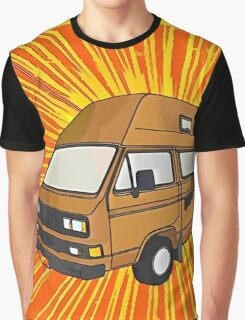 T25 Sunburst cartoon Graphic T-Shirt