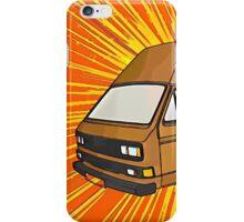 T25 Sunburst cartoon iPhone Case/Skin