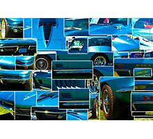 Corvette Composite Photographic Print